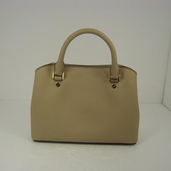 Michael Kors Savannah Small Leather Satchel 0887